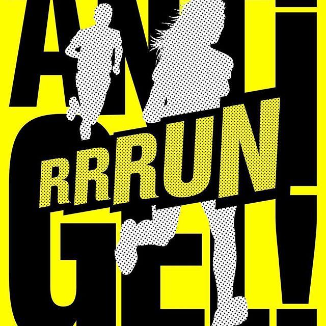 Affiche Antigel Run (c) Joëlle Flumet 2018