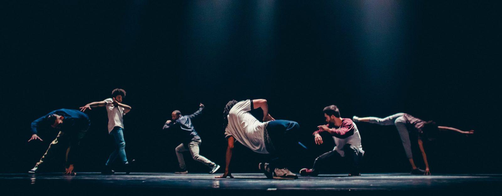 Danseurs du festival de danse hip-hop Groove'n'move à Genève du 24 février au 4 mars 2018