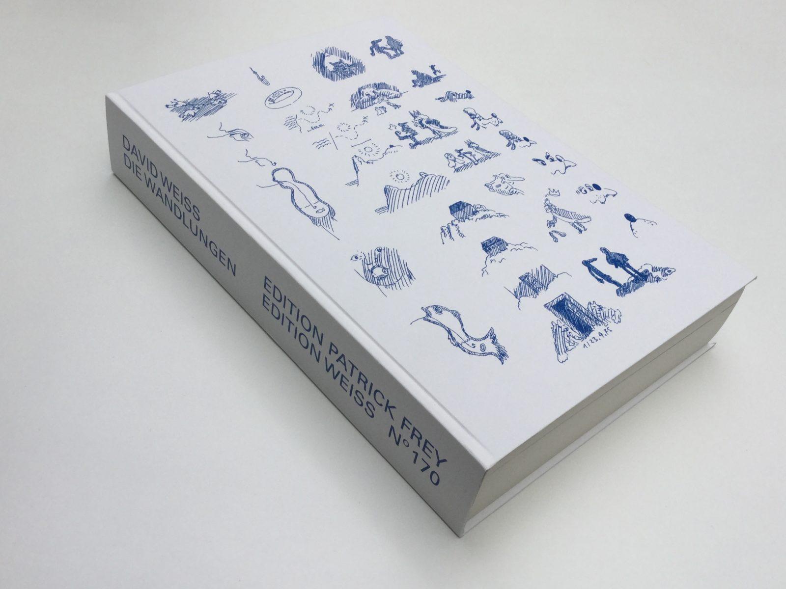 Livre Die Wandlungen (Les Métamorphoses) (c)David Weiss, ed. 2014, article sélection de livres par the line pour go out magazine avril 2018
