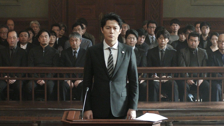 Tiré de « Third Murder », film japonais 2017, article jamais deux sans trois pour go out magazine avril 2018