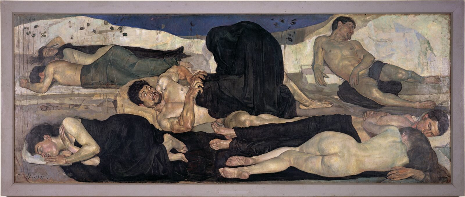 La nuit » (1889) (c)Ferdinand Hodler, article l'année hodler par quantin arnoux et anne fatout pour go out magazine mai 2018