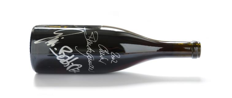 Weinbau von Tscharner Pinot noir Gian-Battista publié dans le cadre de Go Out Magazine
