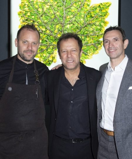 David Toutain, Vik Muniz, Frédéric Panaïotis